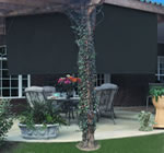 roll a way shades outdoor shade systems
